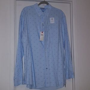 IZOD NWT XL MENS LONG SLEEVE SHIRT